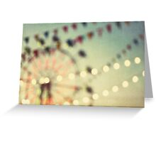 carnival dreams Greeting Card