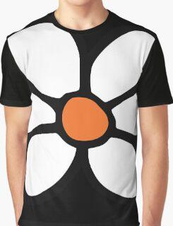 Hippie flower cartoon Graphic T-Shirt