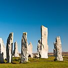 The Callanish standing stones by Hugh McKean