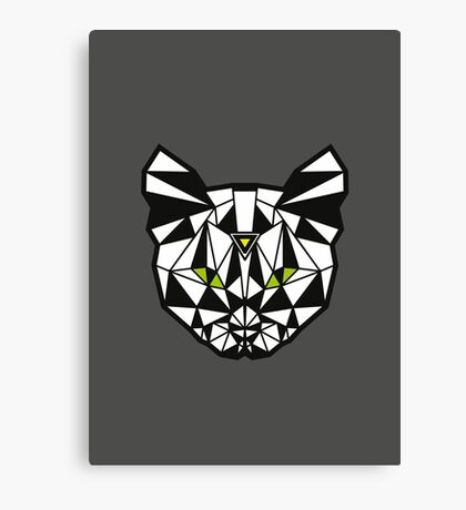 Crystal Cat Canvas Print