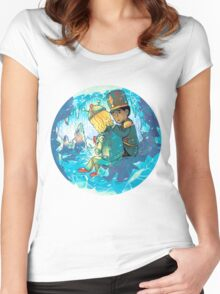 Cave of Frozen Memories (Community) Women's Fitted Scoop T-Shirt