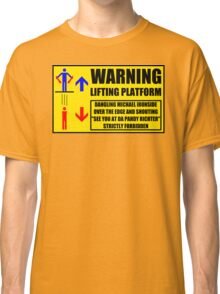 Health And Safety On Mars Classic T-Shirt