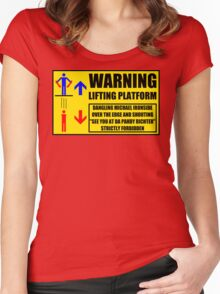 Health And Safety On Mars Women's Fitted Scoop T-Shirt