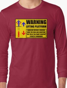 Health And Safety On Mars Long Sleeve T-Shirt