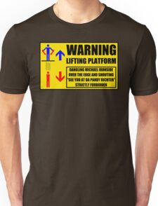 Health And Safety On Mars Unisex T-Shirt