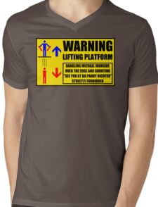 Health And Safety On Mars Mens V-Neck T-Shirt