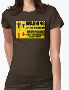 Health And Safety On Mars Womens T-Shirt