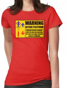 Health And Safety On Mars Womens Fitted T-Shirt