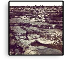 Ogmore rocks Canvas Print