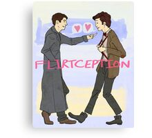 Flirtception Canvas Print