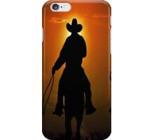Riders To The West iPhone Case/Skin