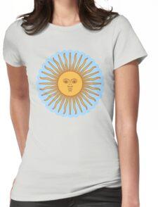 Cool Sun >Cute design< Womens Fitted T-Shirt