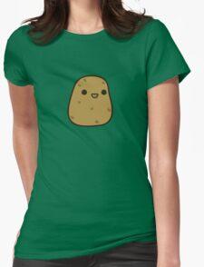 Cute potato Womens Fitted T-Shirt