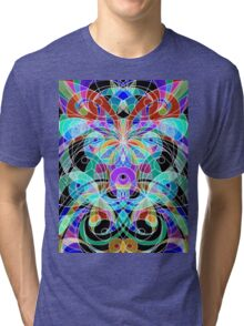Ethnic Style Tri-blend T-Shirt