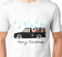 Santa caddy Unisex T-Shirt
