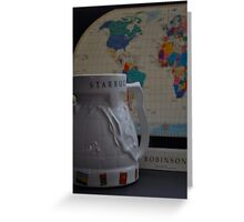 Robinson's World Coffee Cup Greeting Card