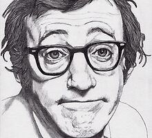 Woody Allen by Paul  Nelson-Esch
