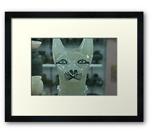 Egypt Cat Framed Print