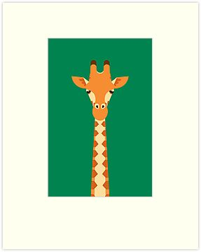 Giraffe by Mark Walker