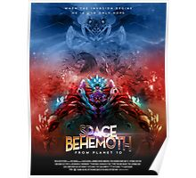 SPACE BEHEMOTH FROM PLANET 10 Poster