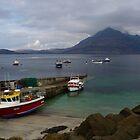 Elgol Harbour I - Isle of Skye by Kat Simmons