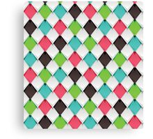 Origami Scales Canvas Print