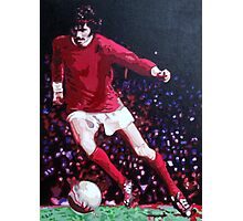 George Best in pop art by db Artstudio Photographic Print