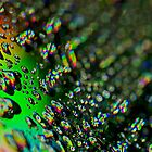 Water Drops - Rainbow Colors by Henry Jager
