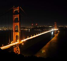 Golden Gate Bridge 2 by Vivian Christopher