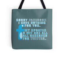 Twit Faced Tote Bag