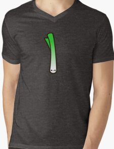 Cute spring onion Mens V-Neck T-Shirt