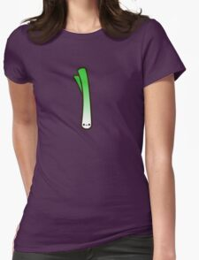 Cute spring onion Womens Fitted T-Shirt