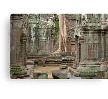 Ta Prohm Cambodia Canvas Print
