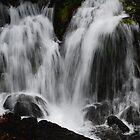 Glacier Waterfall by Tori Snow