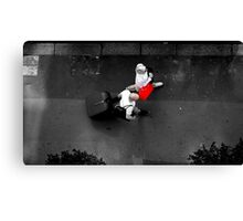 Red Bag Canvas Print