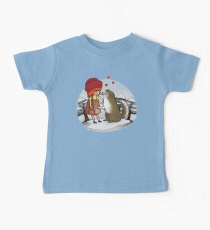 Red Riding Hat Baby Tee