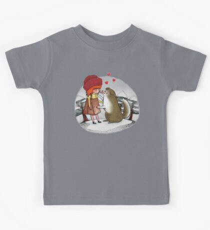Red Riding Hat Kids Tee