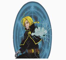 Edward Elric the Fullmetal Alchemist Baby Tee