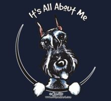 Salt & Pepper Schnauzer :: It's All About Me by offleashart