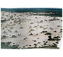 Lake Mungo view Poster