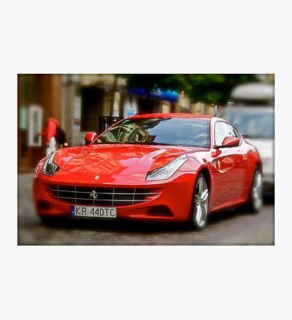 5 ★★★★★ .Maranello red dream ... Niaaamniaaam ! Yeah ! Favorites: 1 Views: 232.. Photographic Print