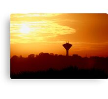 Feel the Warmth Canvas Print