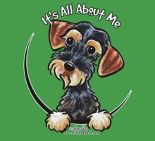 Wild Boar Wirehaired Dachshund :: It's All About Me by offleashart
