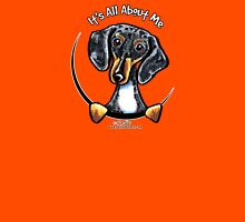 Smooth Dapple Dachshund :: It's All About Me Womens Fitted T-Shirt