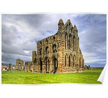 The Abbey at Whitby Poster
