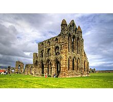 The Abbey at Whitby Photographic Print