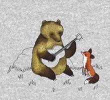 Bear & Fox One Piece - Short Sleeve