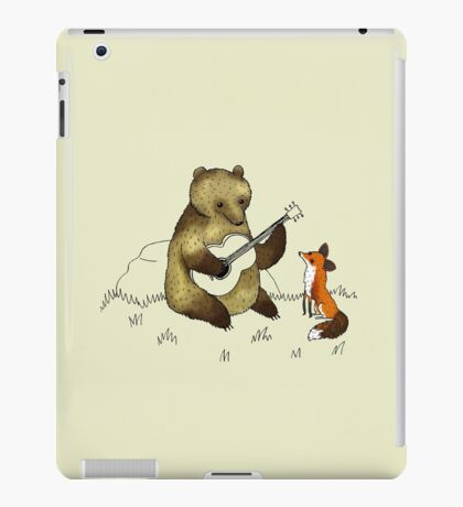Bear & Fox iPad Case/Skin