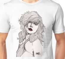 Debbie with Red Lips Unisex T-Shirt