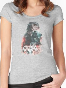Fire Walk With Me Women's Fitted Scoop T-Shirt